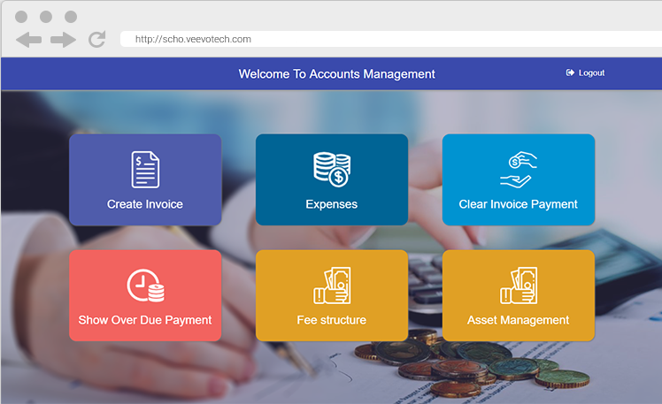 School Management System | Web Based Scholastic System Interface